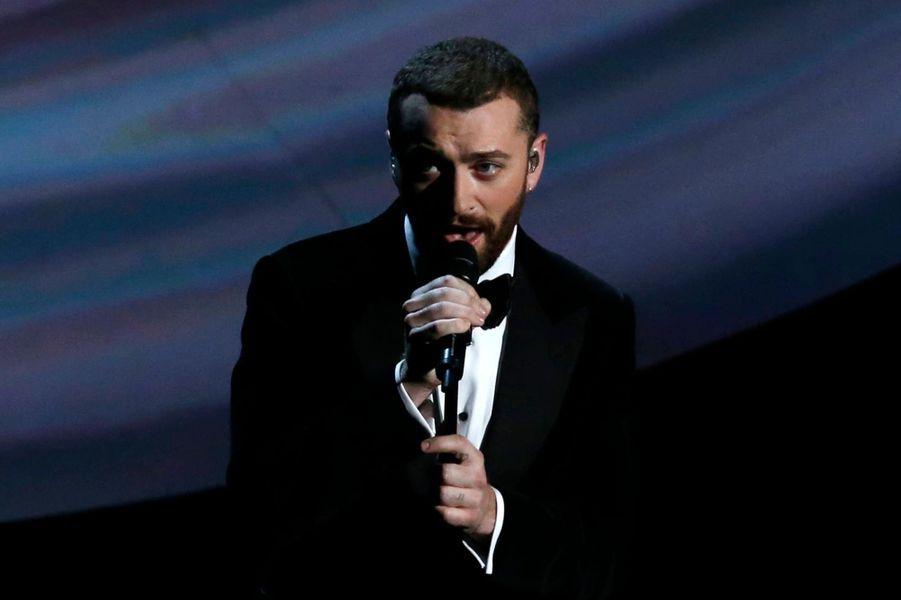 """Sam Smith, Oscar de la meilleure chanson pour """"Writing's on the Wall"""" pour """"Spectre"""""""