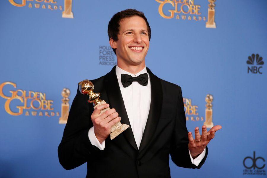 """""""Brooklyn Nine-Nine"""" et Andy Samberg récompensés en série comique"""