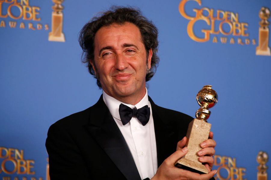 """Paolo Sorrentino (meilleur film étranger pour """"La Grande Bellezza"""")"""