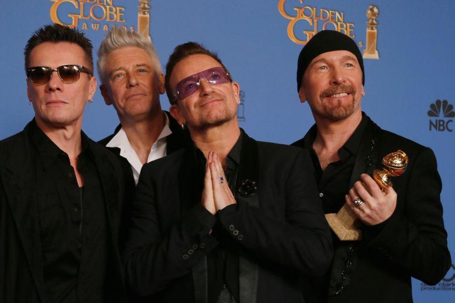 """U2 (prix de la meilleure chanson pour """"Mandela"""")"""