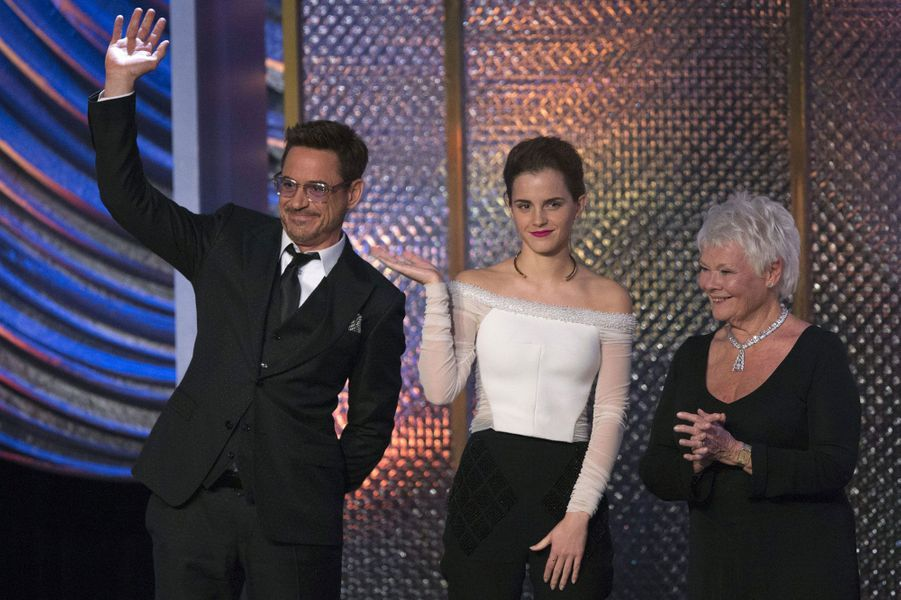 Emma Watson, Judi Dench et Robert Downey Jr.