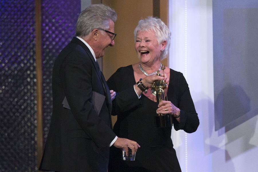 Judi Dench et Dustin Hoffman