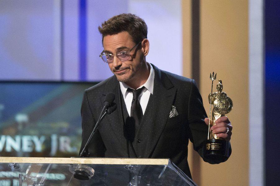 Robert Downey Jr. a reçu le prix Stanley Kubrick
