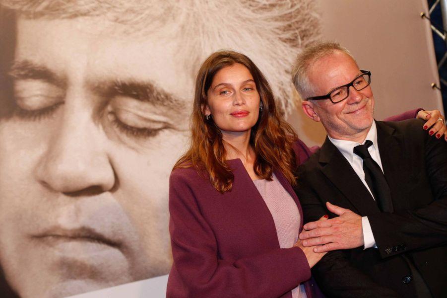 Laeticia Casta et Thierry Frémaux