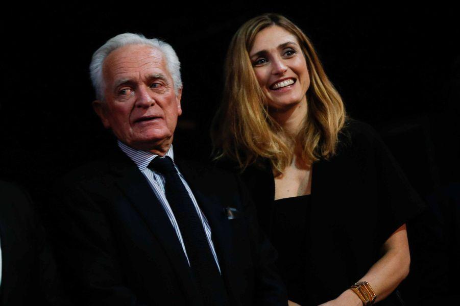 Philippe Labro et Julie Gayet