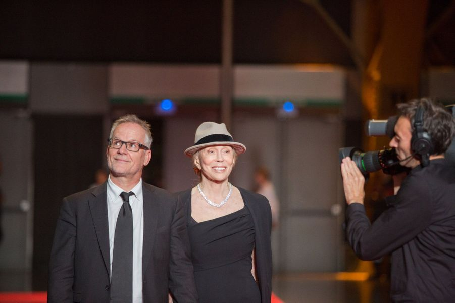 Thierry Frémaux et Faye Dunaway