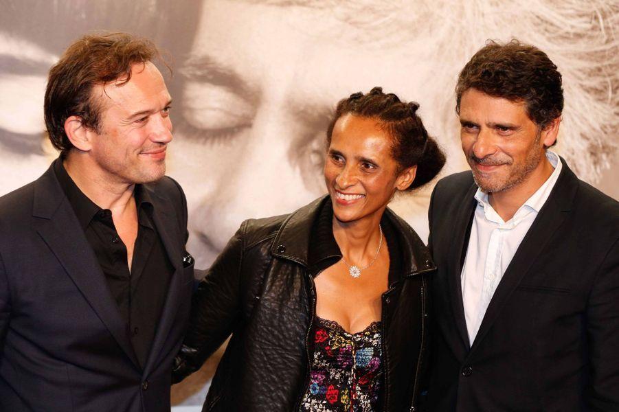Vincent Perez, Karine Silla et Pascal Elbé