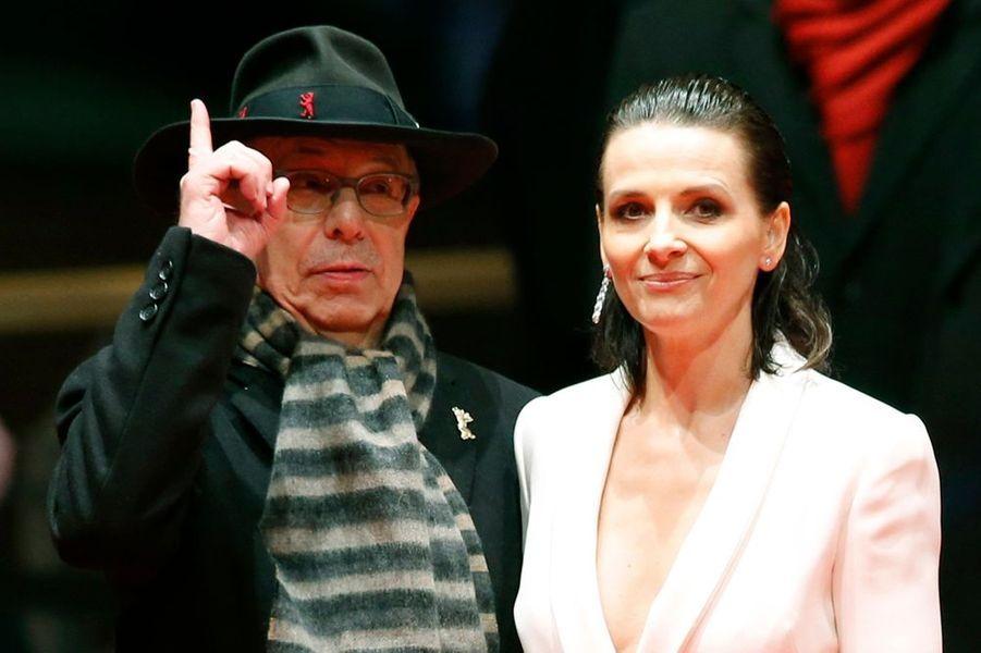 Dieter Kosslick et Juliette Binoche