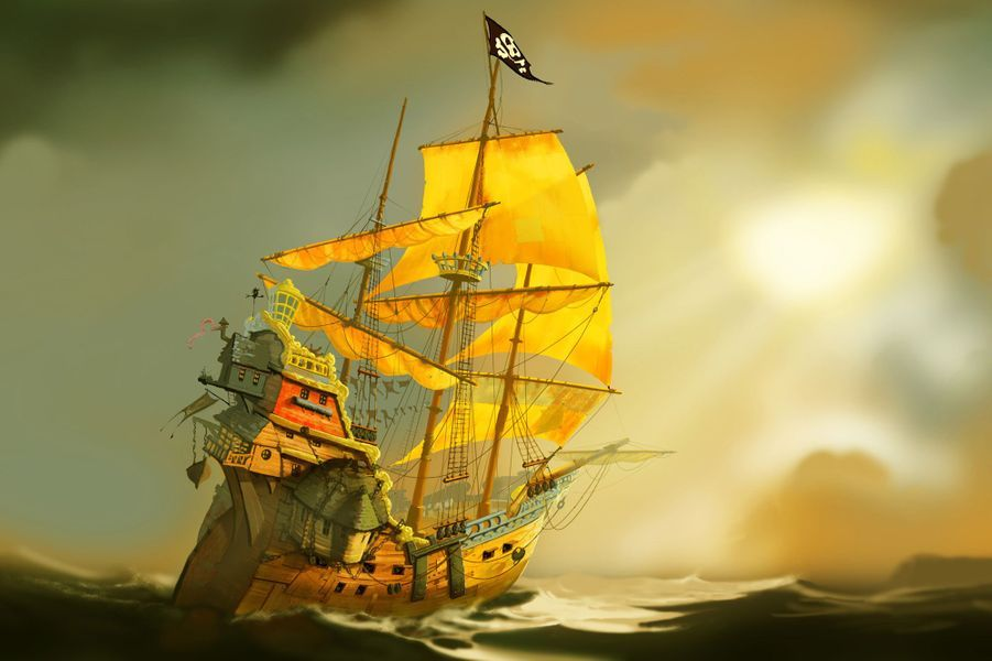 """""""Les Pirates, bons à rien, mauvais en tout !"""""""