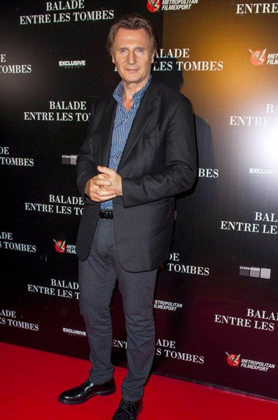 Liam Neeson, balade à Paris