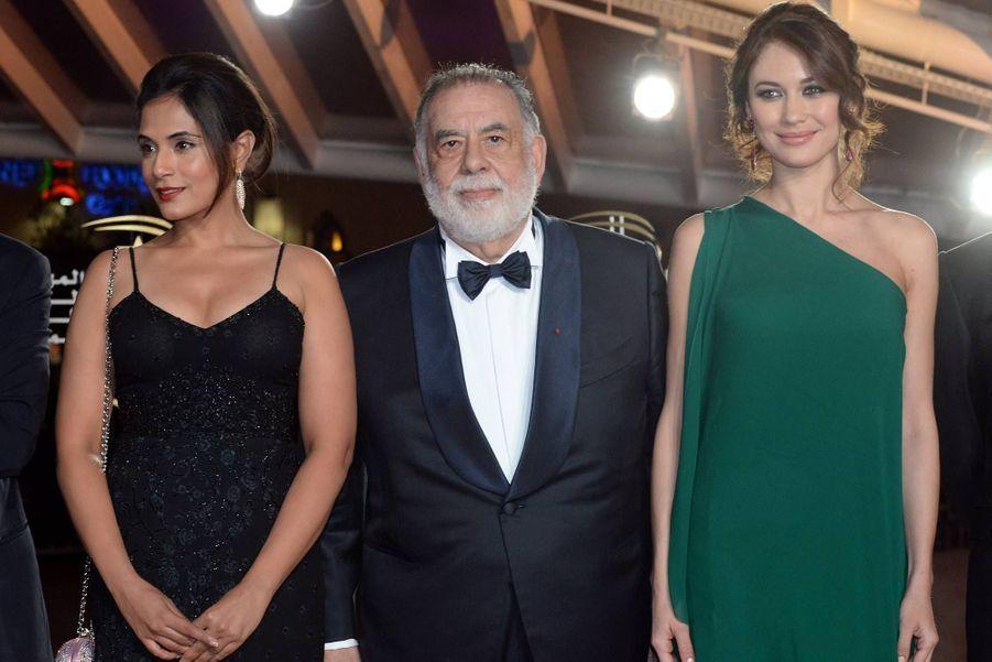 Richa Chadda, Francis Ford Coppola et Olga Kurylenko