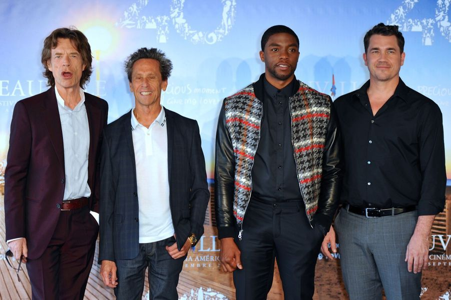 Mick Jagger, Brian Grazer, Chadwick Boseman et Tate Taylor