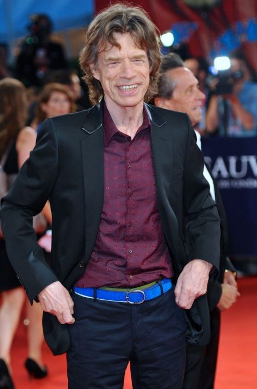 Mick Jagger, la légende du rock honore le parrain de la soul