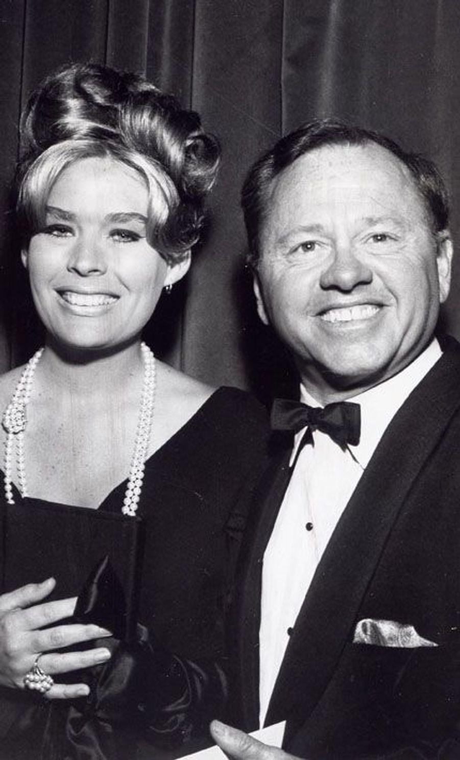 Avec Barbara Ann Thomason, sa sixième épouse (1958-1966)