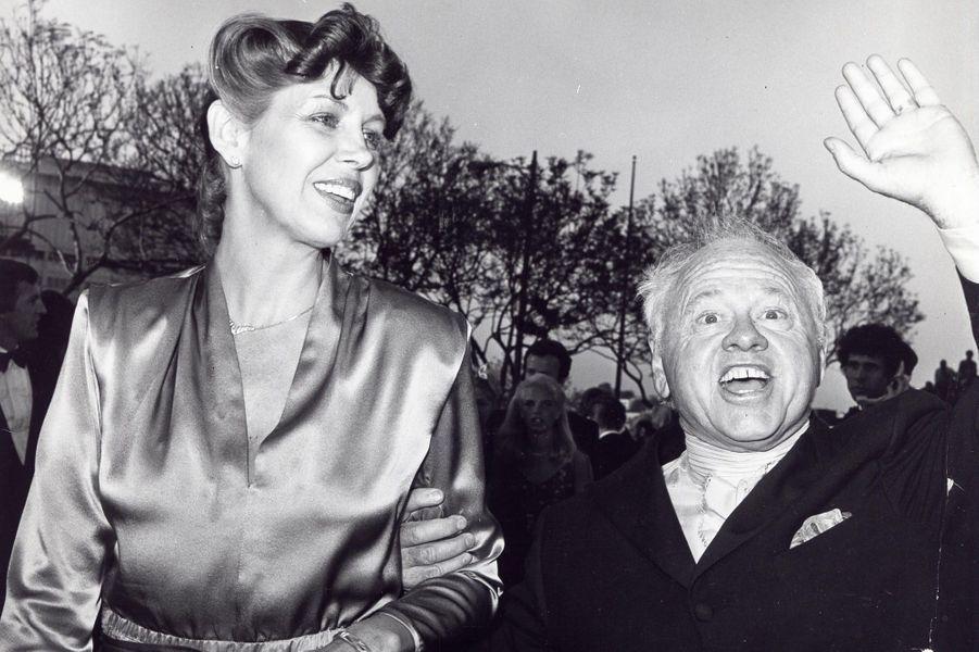 Avec Jan Chamberlin, sa huitième et dernière épouse