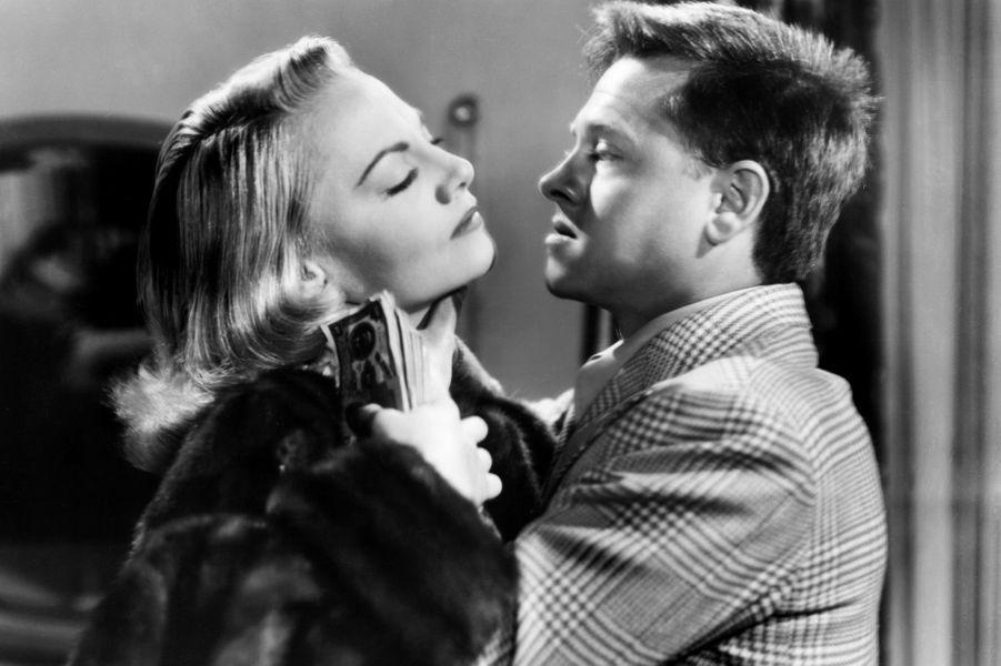Avec Jeanne Cagney en 1950