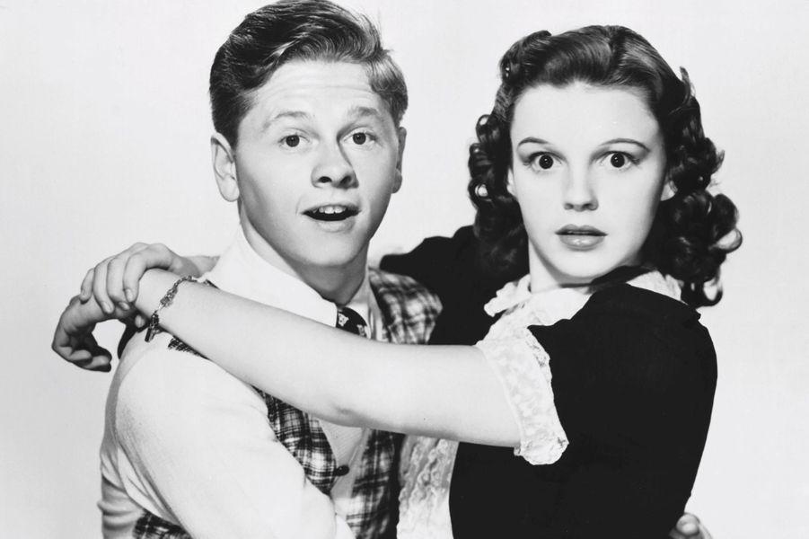 Avec Judy Garland en 1938