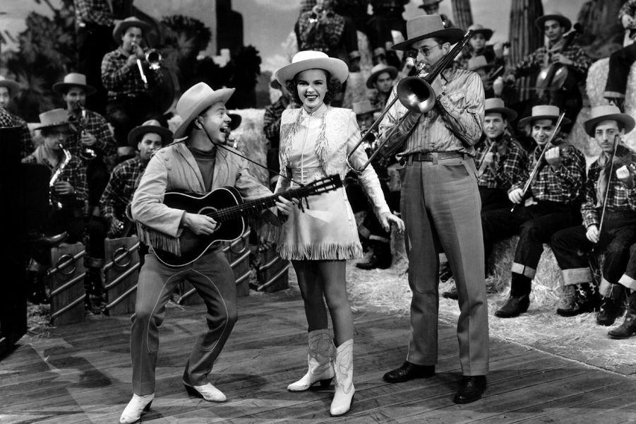 Avec Judy Garland en 1943