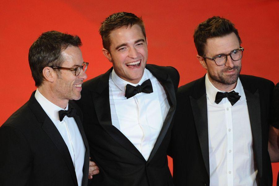 Guy Peace, Robert Pattinson et David Michôd