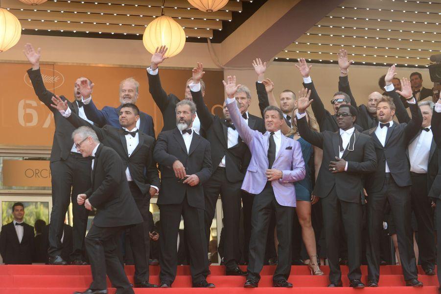 """L'équipe de """"The Expendables 3"""" au complet"""