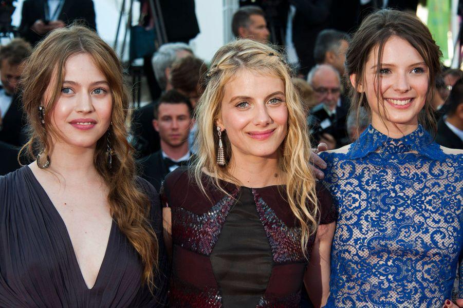 """Mélanie Laurent et les actrices de """"Respire"""""""