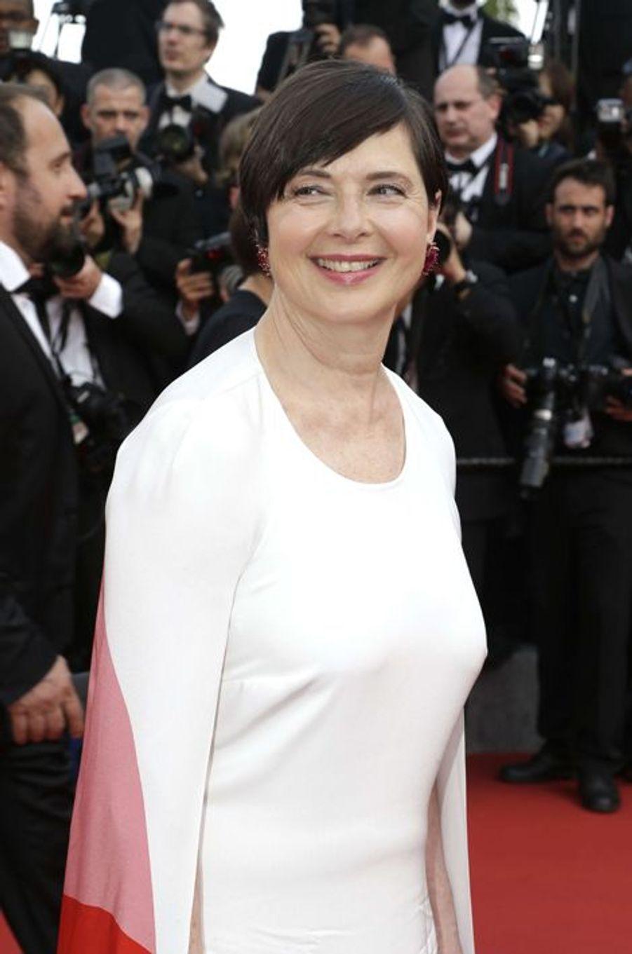 Isabella Rossellini à Cannes le 13 mai 2015