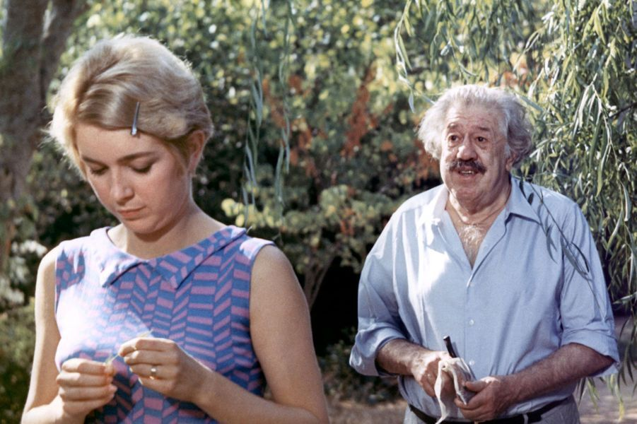 «Ce sacré grand-père» de Jacques Poitrenaud en 1967 avec Michel Simon