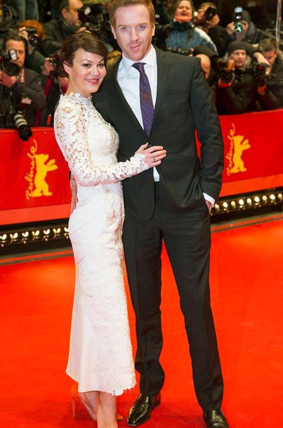 Damian Lewis et son épouse