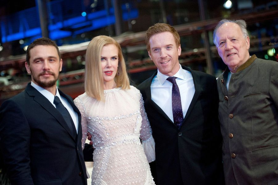 James Franco, Nicole Kidman, Damian Lewis et Werner Herzog