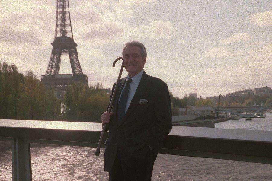 Patrick Macnee en 1991 à Paris