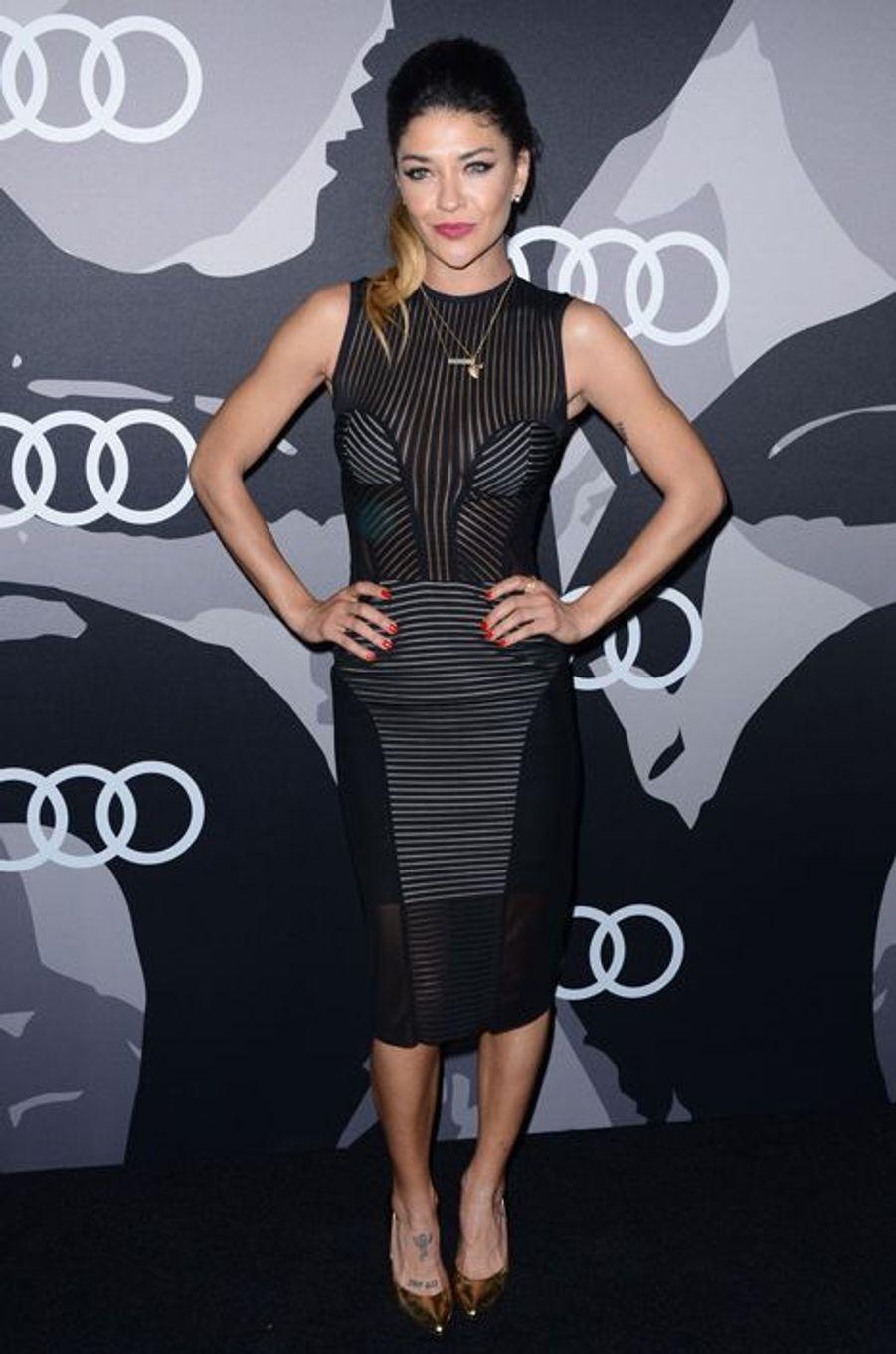 Jessica Szohr à Los Angeles le 8 janvier 2014