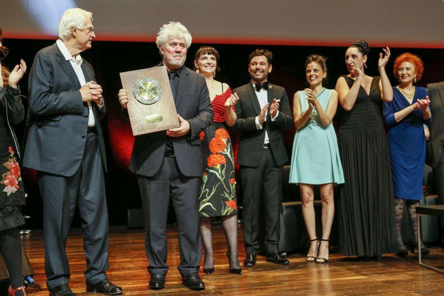 Pablo Almodovar récompensé du Prix Lumière 2014 à Lyon