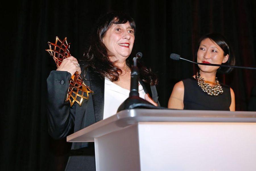 Sylvie Pialat à Paris le 16 février 2015