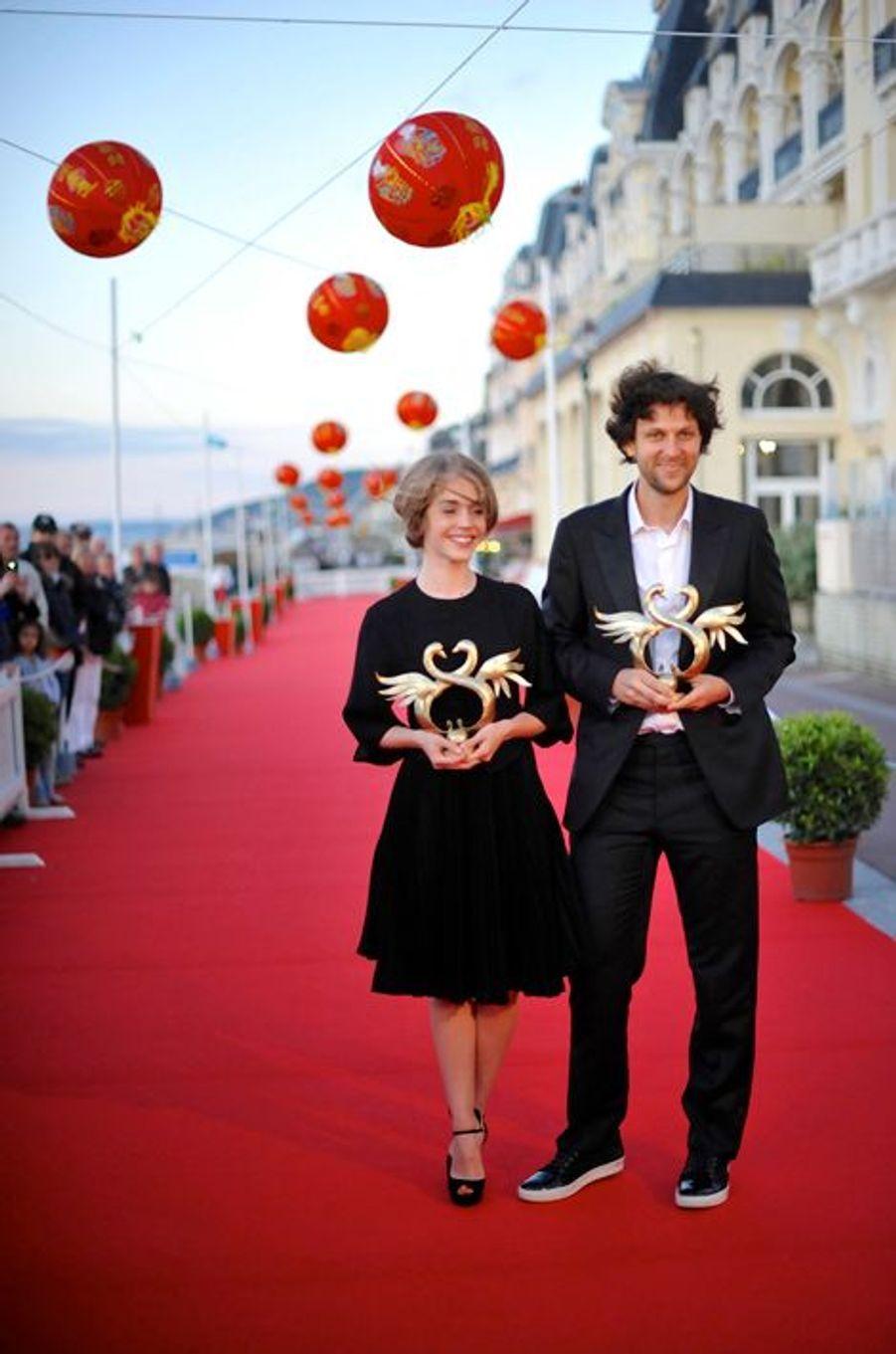 """Alice Isaaz et Pierre Rochefort pour """"Un beau dimanche"""" de Nicole Garcia"""