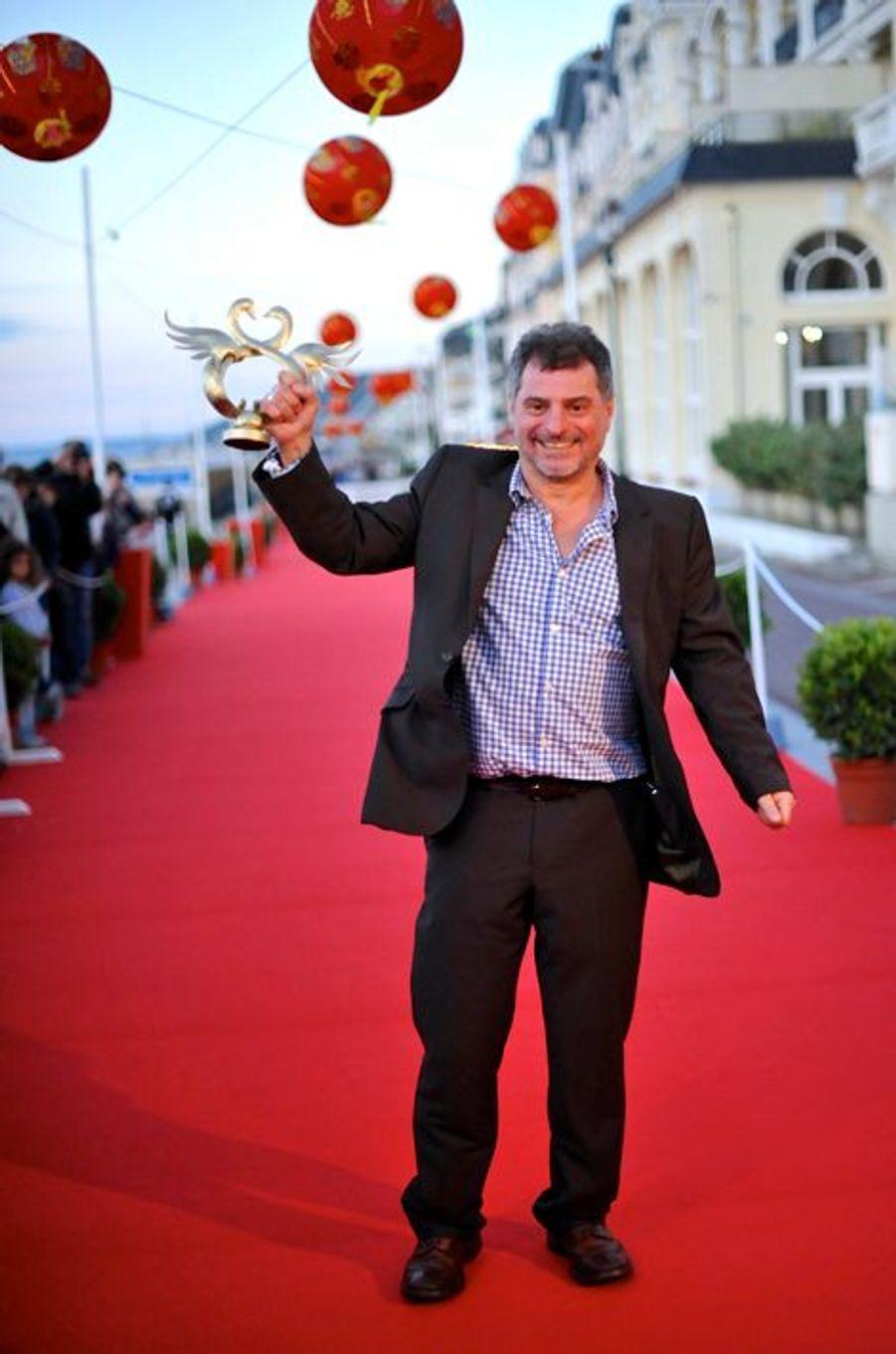 """Pierre Salvadori, meilleur réalisateur pour """"Dans la cour""""."""