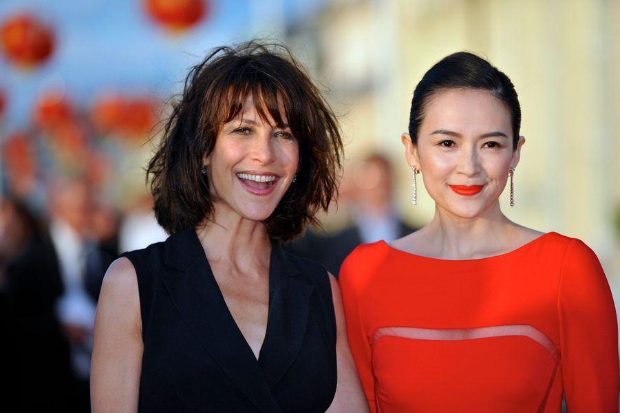 Sophie Marceau et Zhang Ziyi