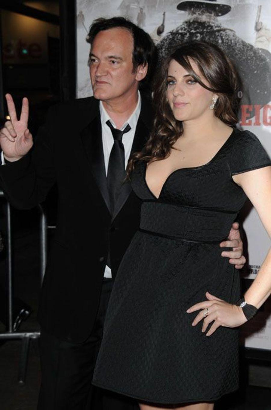 Quentin Tarantino bien accompagné