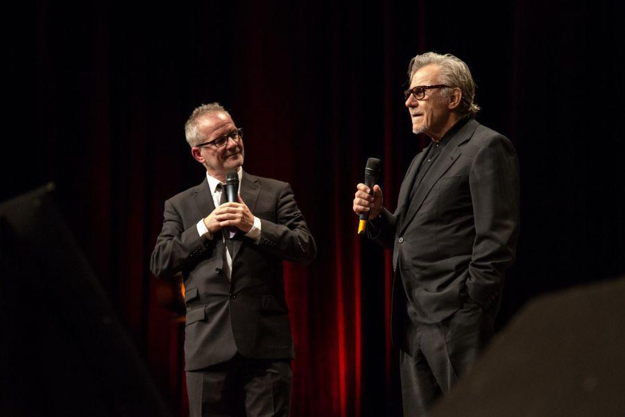 Thierry Frémaux et Harvey Keitel
