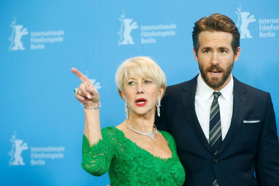 Helen Mirren et Ryan Reynolds