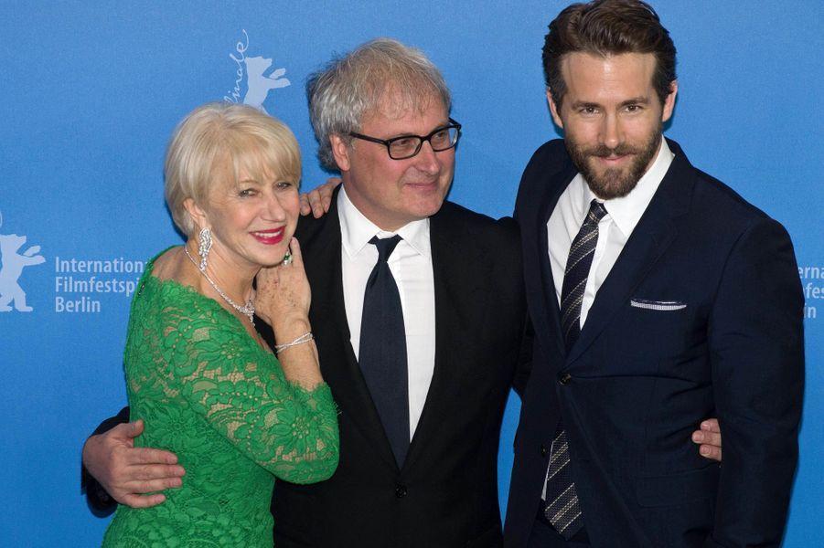 Helen Mirren, Simon Curtis et Ryan Reynolds