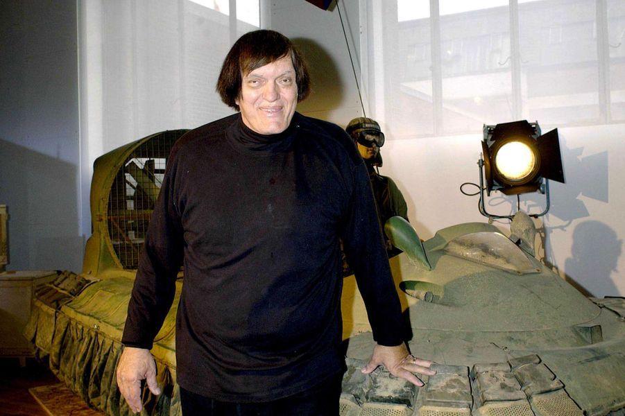 2002, lors d'une exposition James Bond à Londres