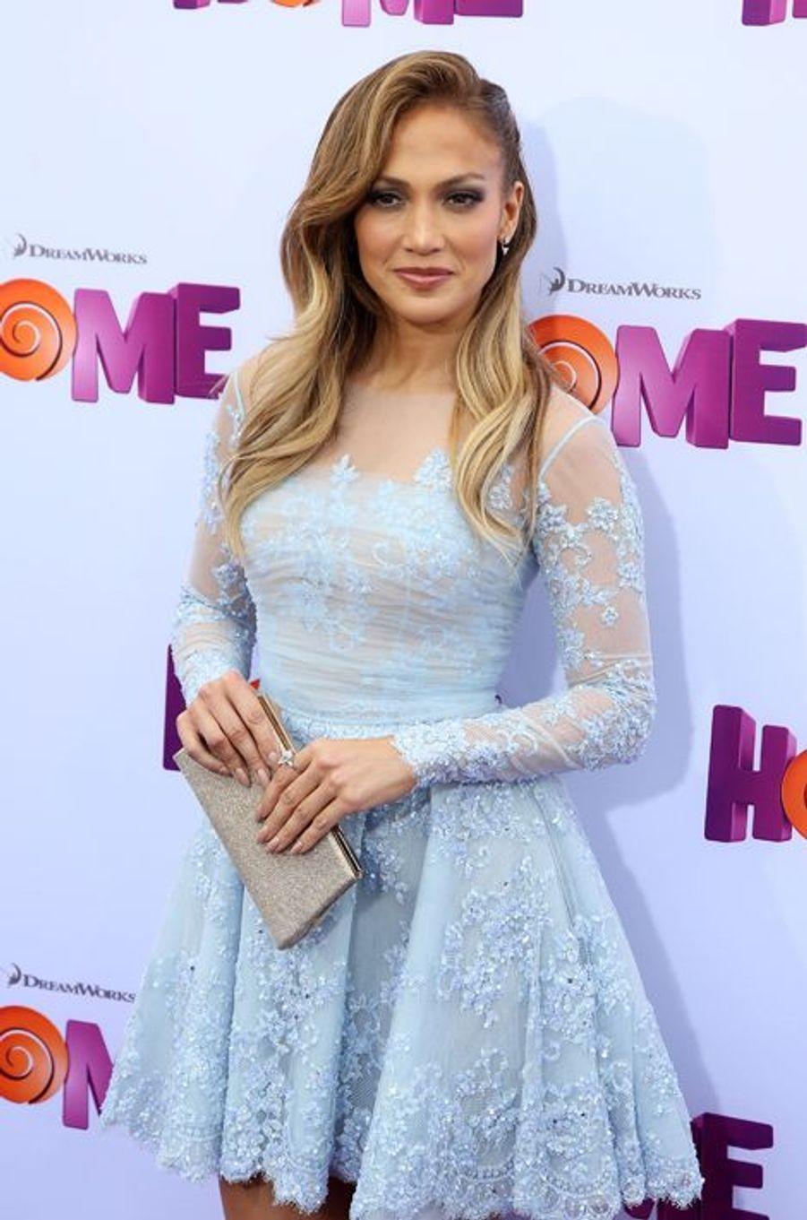 Jennifer Lopez à Los Angeles le 22 mars 2015