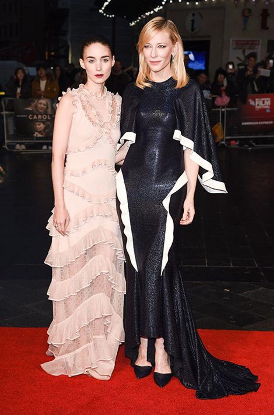Rooney Mara et Cate Blanchett