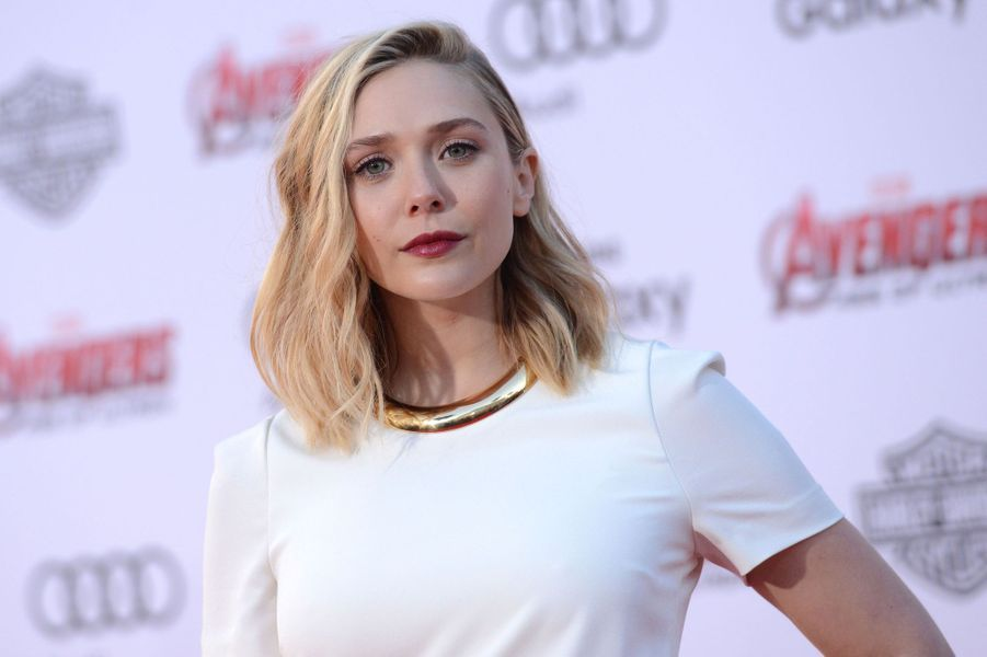 Elizabeth Olsen à Los Angeles le 13 avril 2015