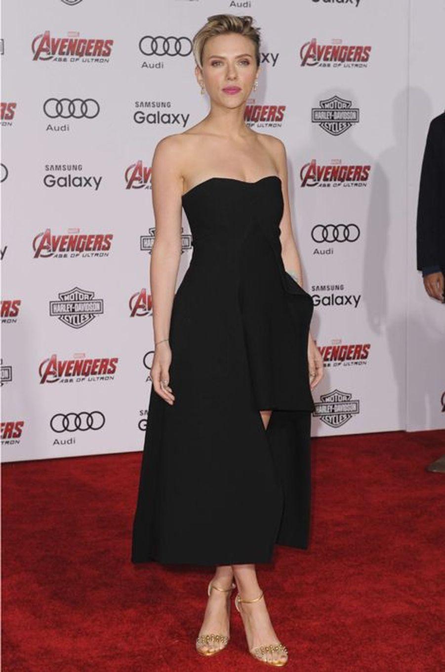 Scarlett Johansson à Los Angeles le 13 avril 2015