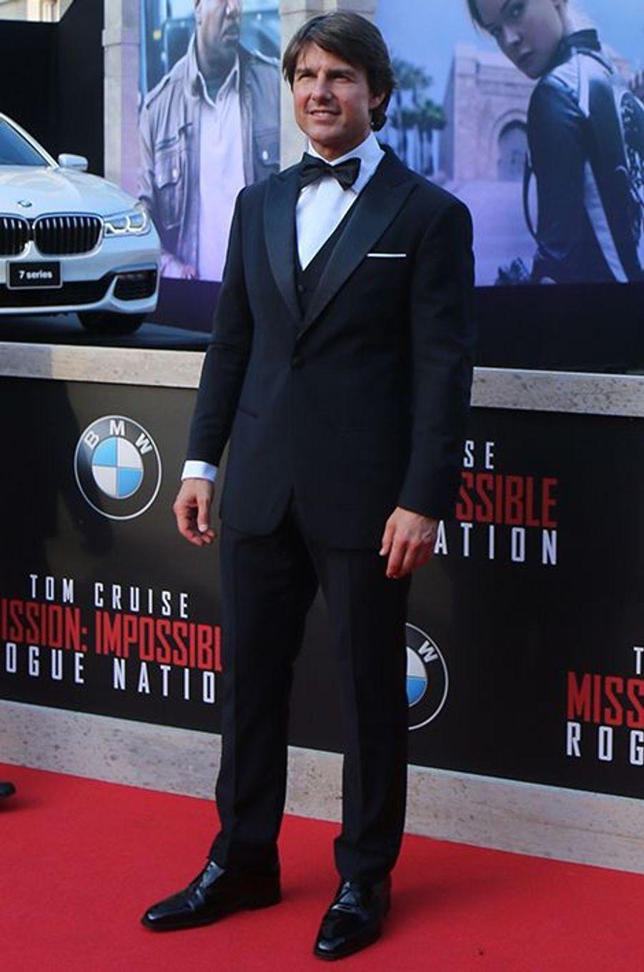 Tom Cruise à Vienne le 23 juillet 2015