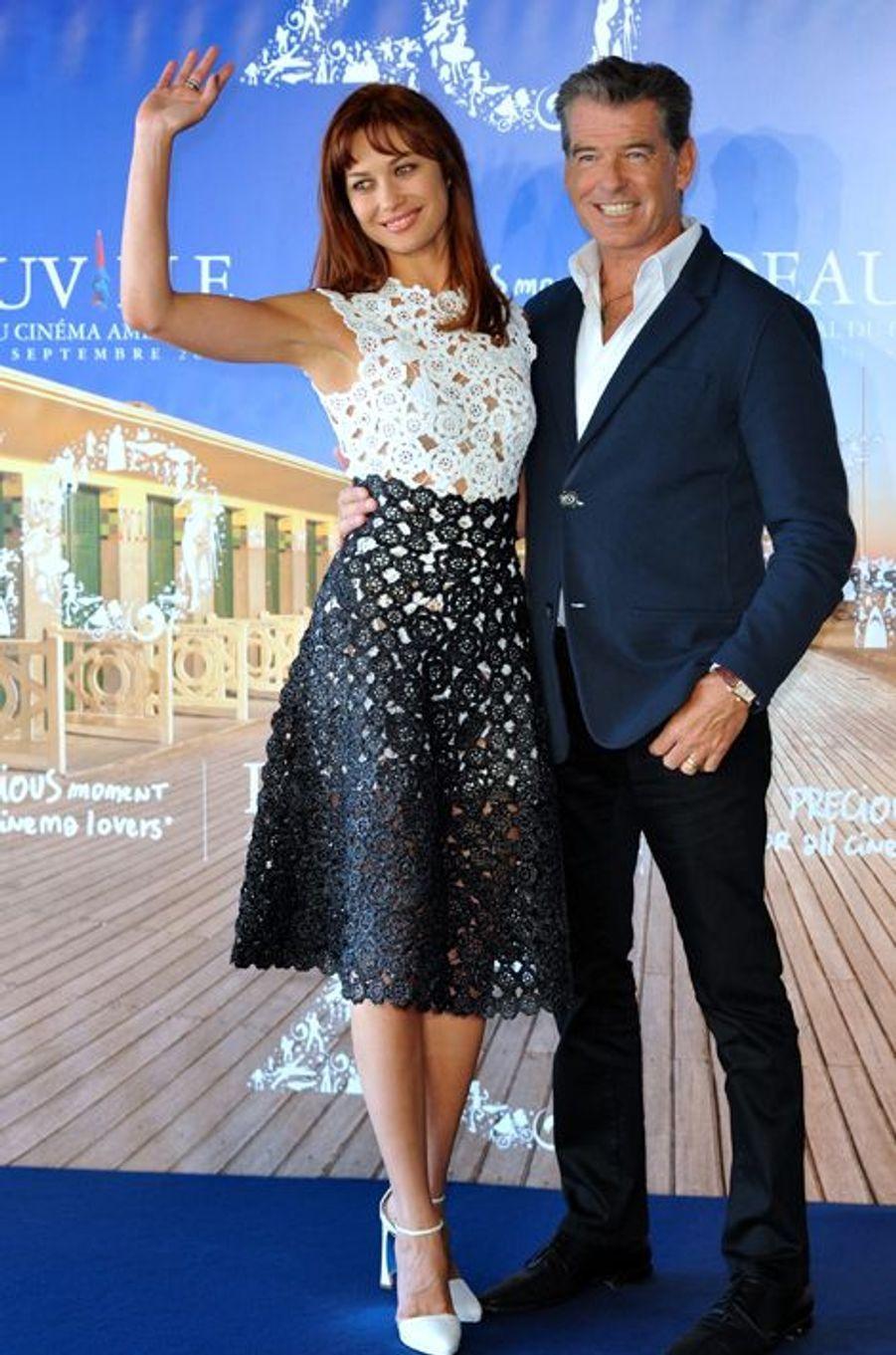 Pierce Brosnan et Olga Kurylenko