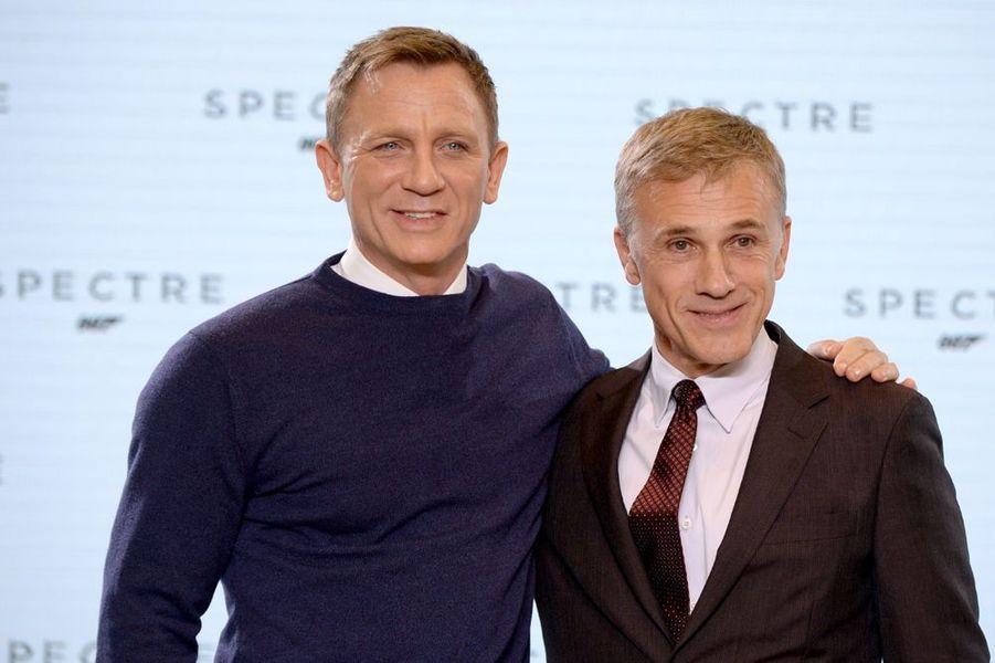Daniel Craig et Christoph Waltz