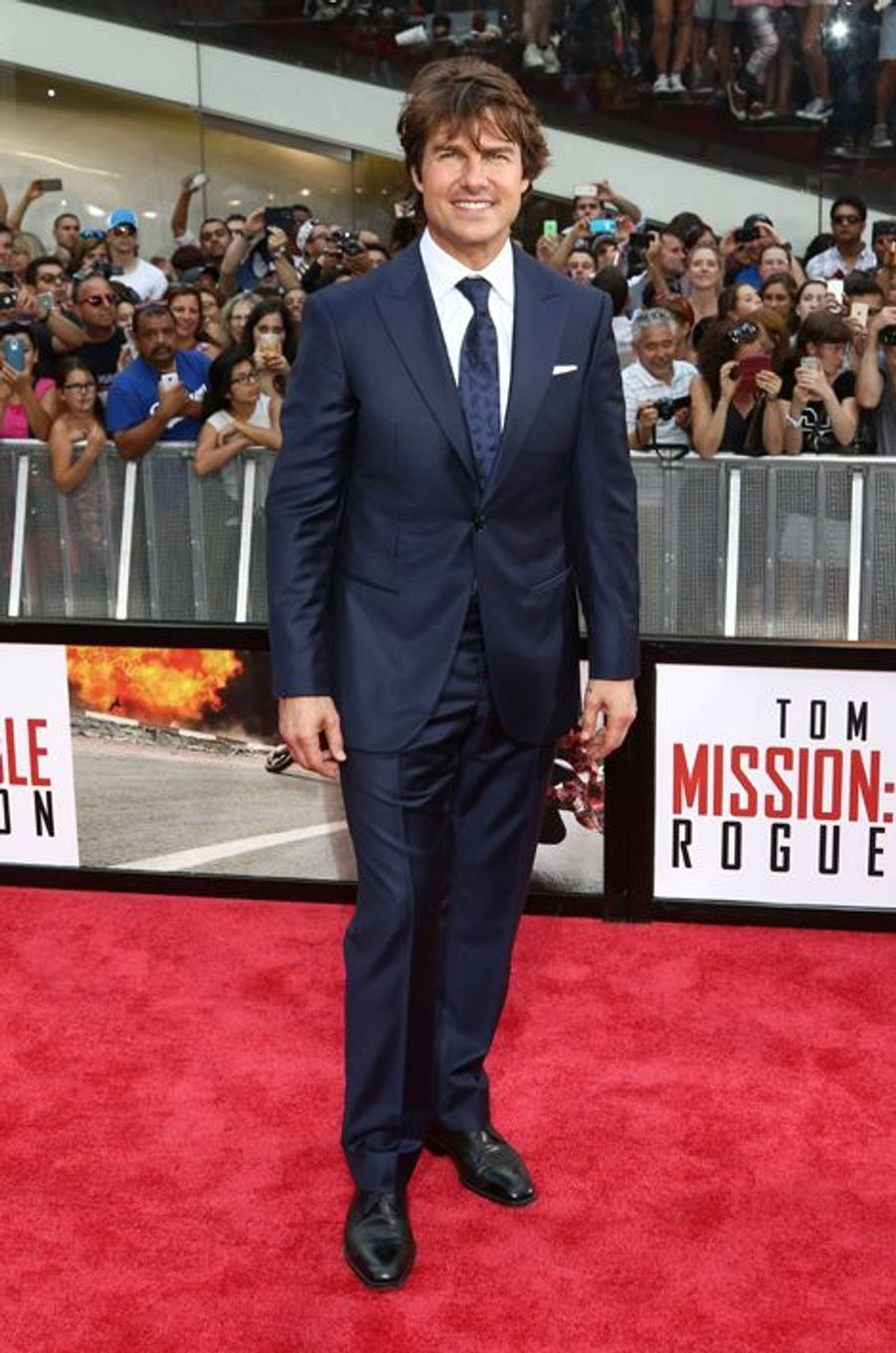 Tom Cruise à New York le 27 juillet 2015