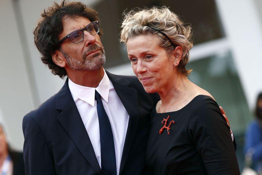 Frances McDormand et Joel Coen